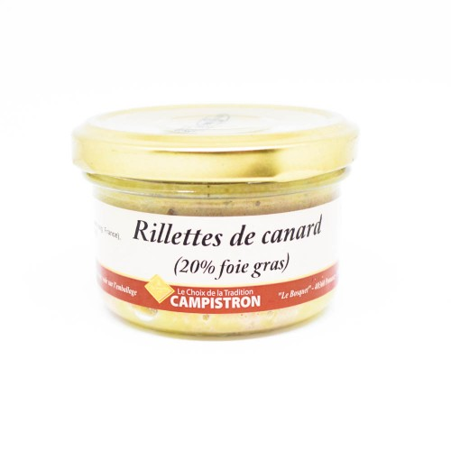 Rillettes de Canard (20% Foie Gras)