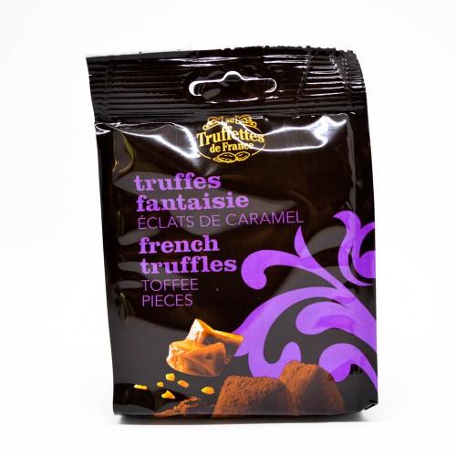 Truffes fantaisie aux éclats de caramel