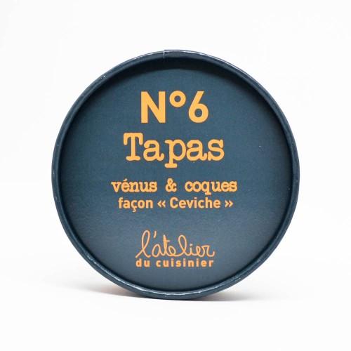 """Tapas de Vénus & Coques façon """"Ceviche"""" N°6"""